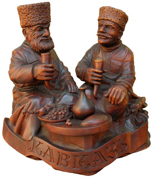 Горцы, деревянная скульптура, Резьба по дереву. Бизнес сувенир. Оригинальный  подарок в традициях народных промыслов Украины. Сувенирная продукция. (89,7 КБ)
